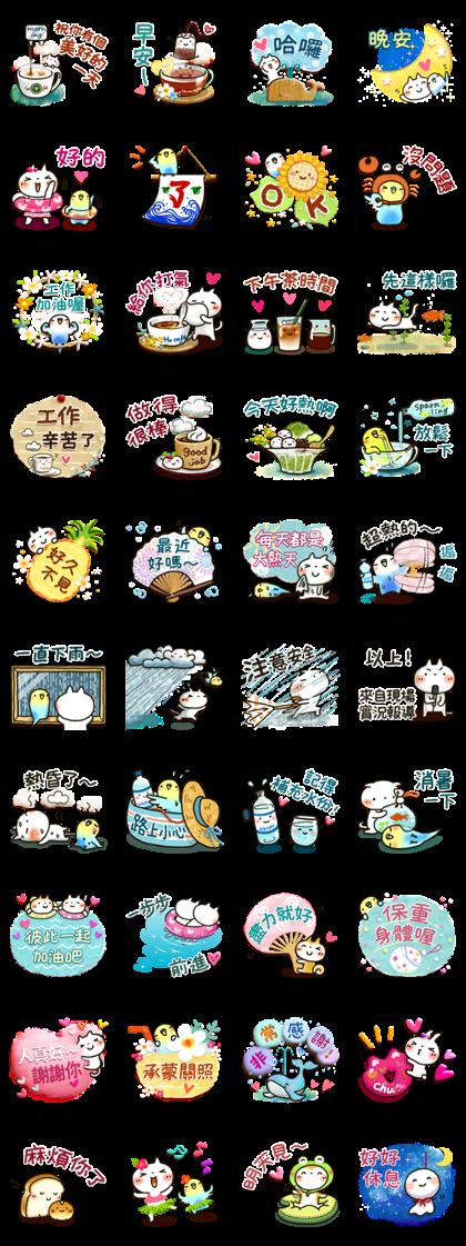 Sweet Healing Summer Stickers