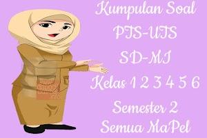 Kumpulan Soal PTS UTS SD MI Kelas 1 2 3 4 5 6 Semester 2 Lengkap Semua Pelajaran