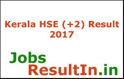 Kerala HSE (+2) Result 2017