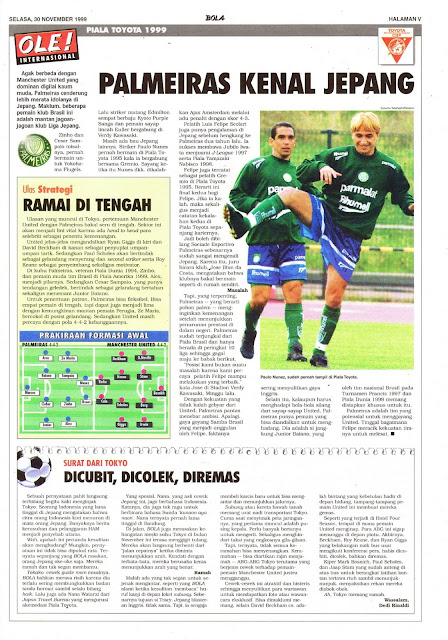 TOYOTA CUP 1999 PALMEIRAS KNOWS JAPAN