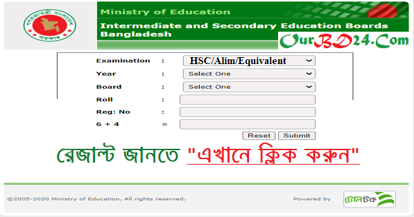 Alim Result Madrasah Education Board