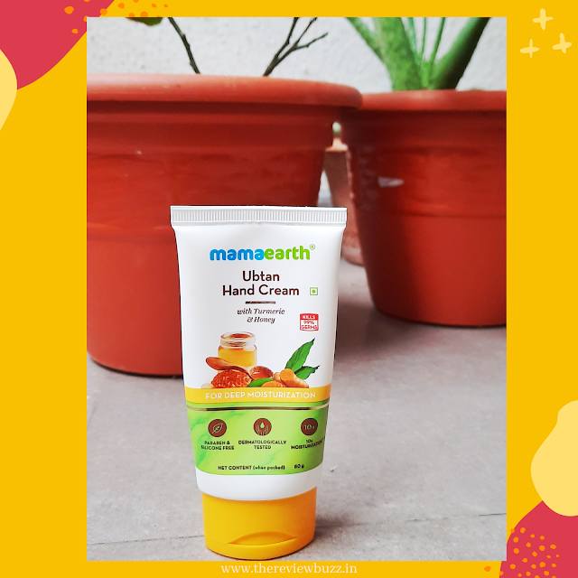 Mamaearth Ubtan Hand Cream with Turmeric and Honey for Deep Moisturization - Review