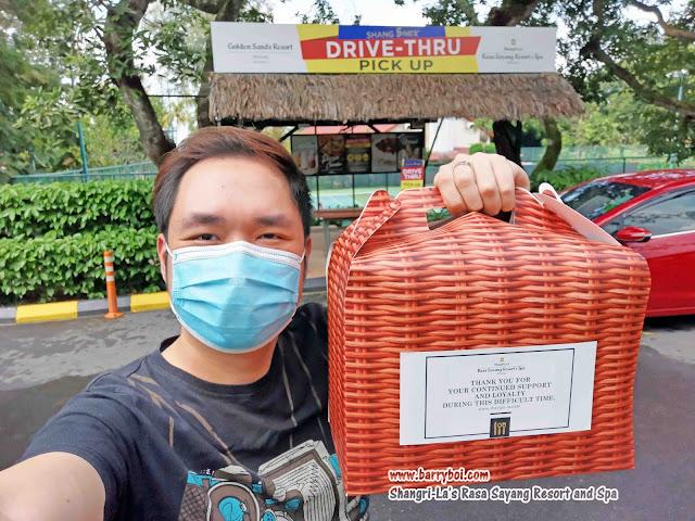 Shang Shack Drive-thru Pick Up by Shangri-La's Rasa Sayang Resort & Spa
