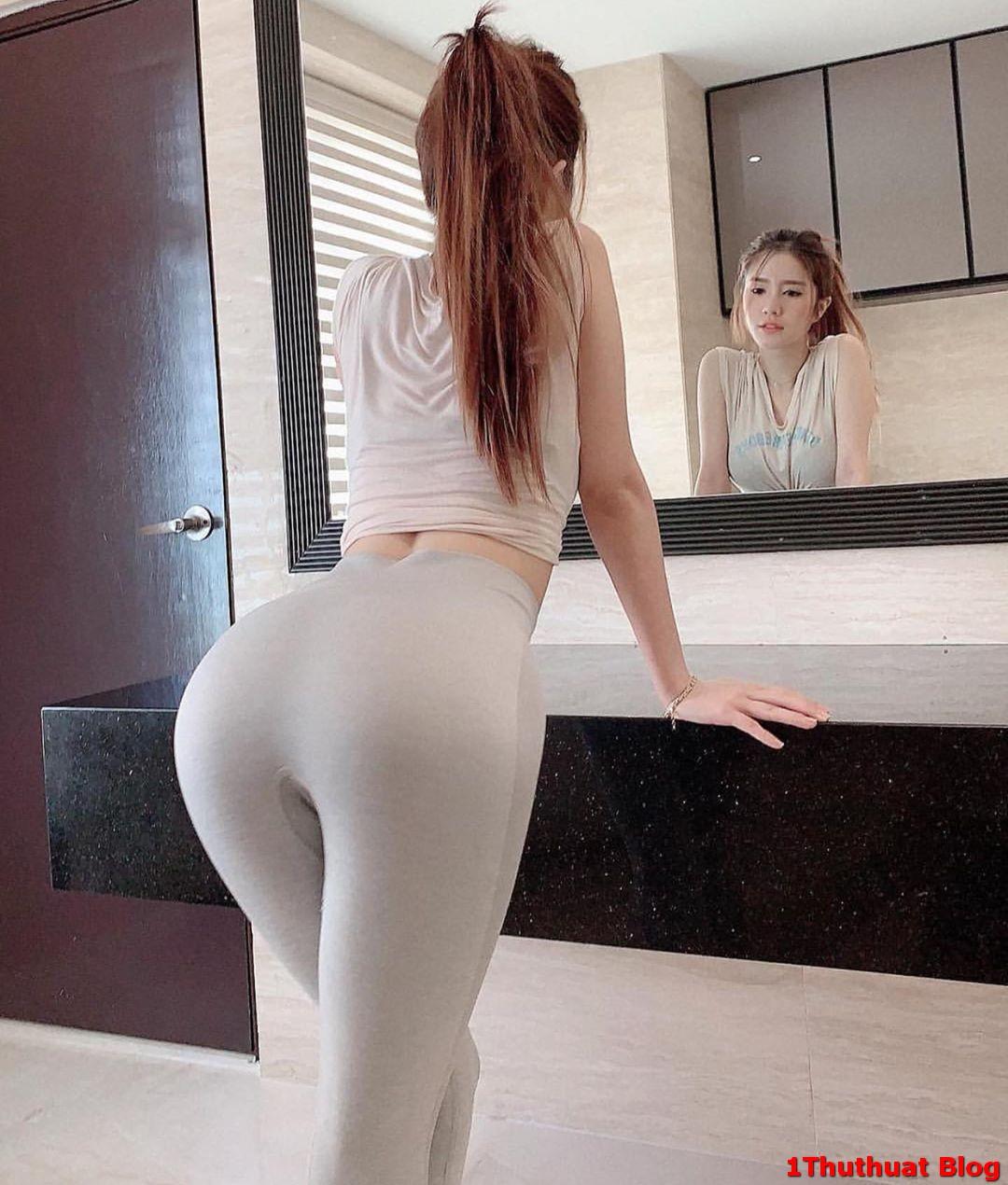 Ảnh gái mông to cực đẹp nhìn là phê