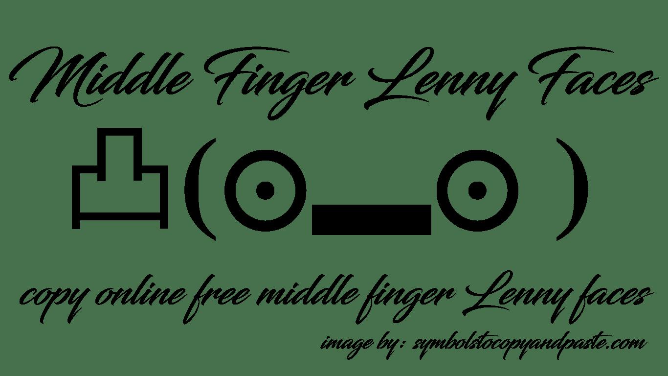 ୧༼ಠ益ಠ╭∩╮༽ Middle Finger Text Faces - Copy Online 凸(⊙▂⊙ ) Middle Finger Lenny Faces