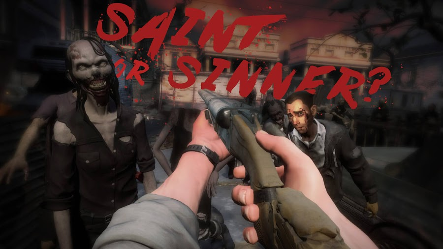 the walking dead saints and sinners vr game gameplay trailer choice-based narrative oculus rift skydance interactive skybound entertainment january 23 2020
