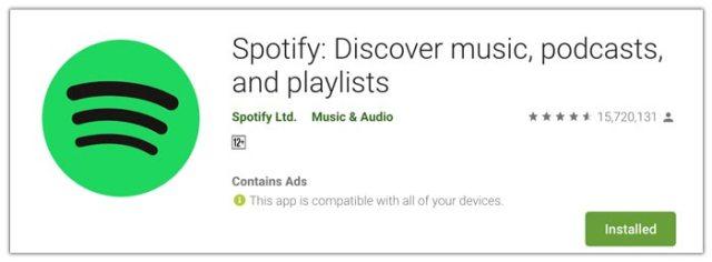 Spotify - Musik dan Podcast