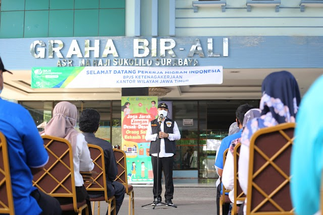 UPT Asrama Haji, Jangan Pernah Bosan Membantu Kami