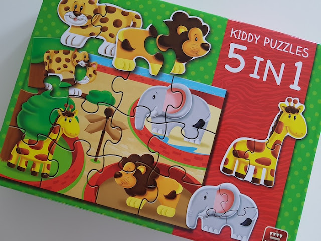kiddy puzzles 5 in 1