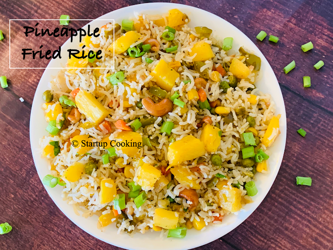 Pineapple Fried Rice Recipe | Pineapple Rice Recipe | Startup Cooking
