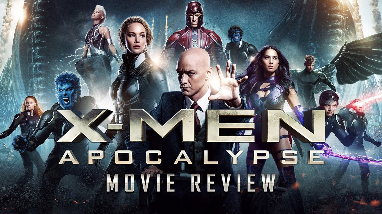 movie review X-Men: Apocalypse podcast