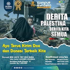 Derita Palestina Derita Kita Semua
