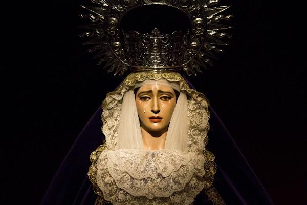 La Virgen de la O regresa mañana a la Compañía de María en Jerez