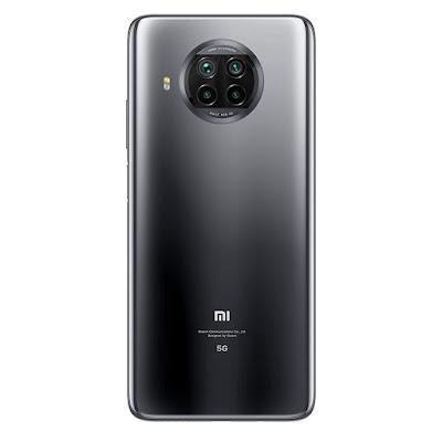 XIAOMI MI 10i 5G - MIDNIGHT BLACK - REAR VIEW