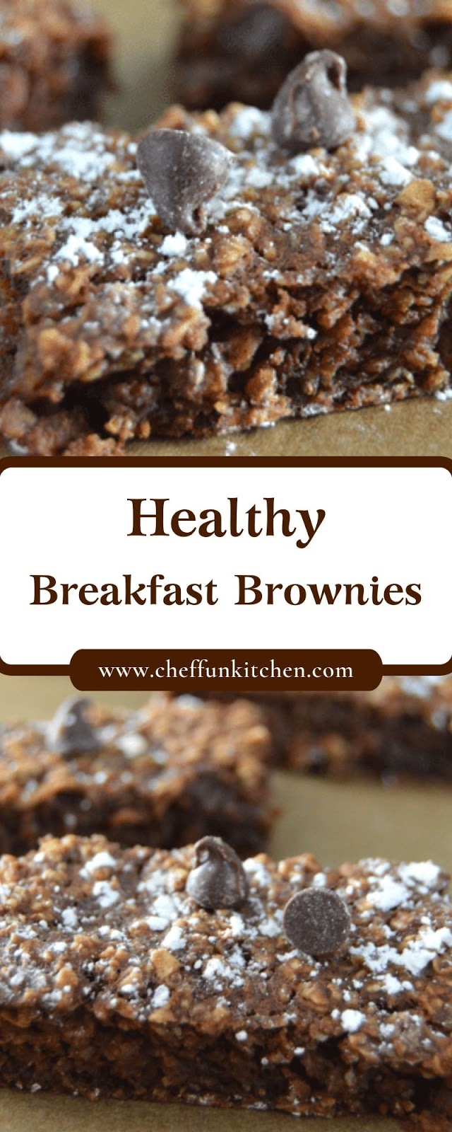 Healthy Breakfast Brownies