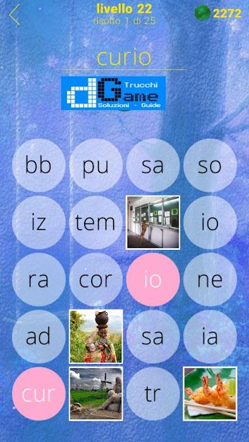 650 Foto soluzione pacchetto 22 livelli (1-25)