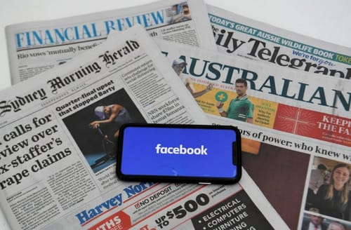 Sudden escalation: Facebook bans publishing news in Australia