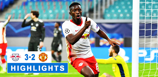 RB Leipzig vs Manchester United Highlights