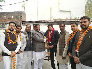 पूर्व मंत्री अरविंद सिंह गोप के नेतृत्व में अधिवक्ताओं ने जॉइन की सपा
