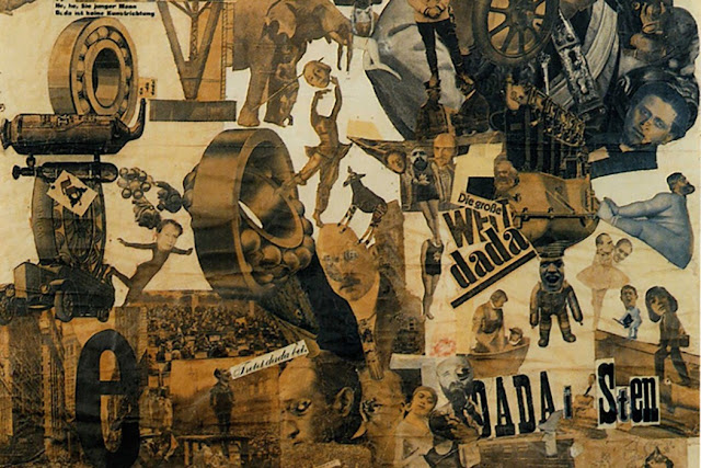 Cut with the Kitchen Knife through the Last Weimar Ber-Belly Cultural Epoch in Germany, 1919, Hannah Hoch
