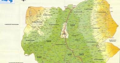 All About Magelang: Peta Kabupaten Magelang