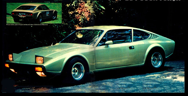 WMV com motor 1600 da Brasilia - 1978