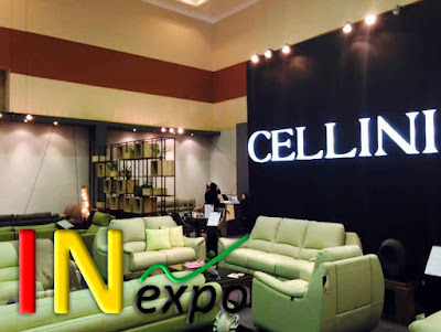 BOOTH CELLINI PADA FURNITURE EXPO 2015 JCC Inexpo Konrtaktor Booth Pameran