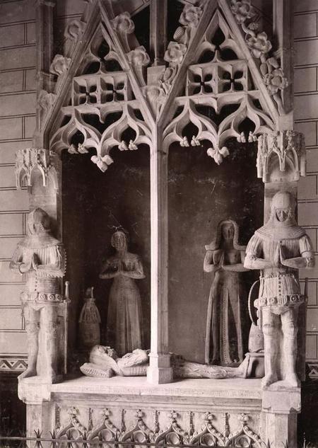 Plano general de la transi tumba de François I de la Sarrà