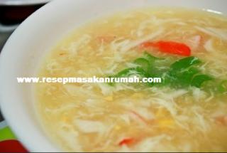 REsep Sup Asparagus Kepiting Enak LEzat Sederhana