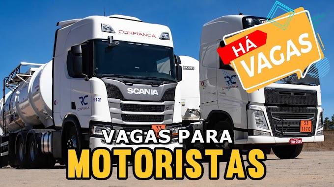 Transportadora Rodoviário Confiança abre vagas para motorista Rodotrem