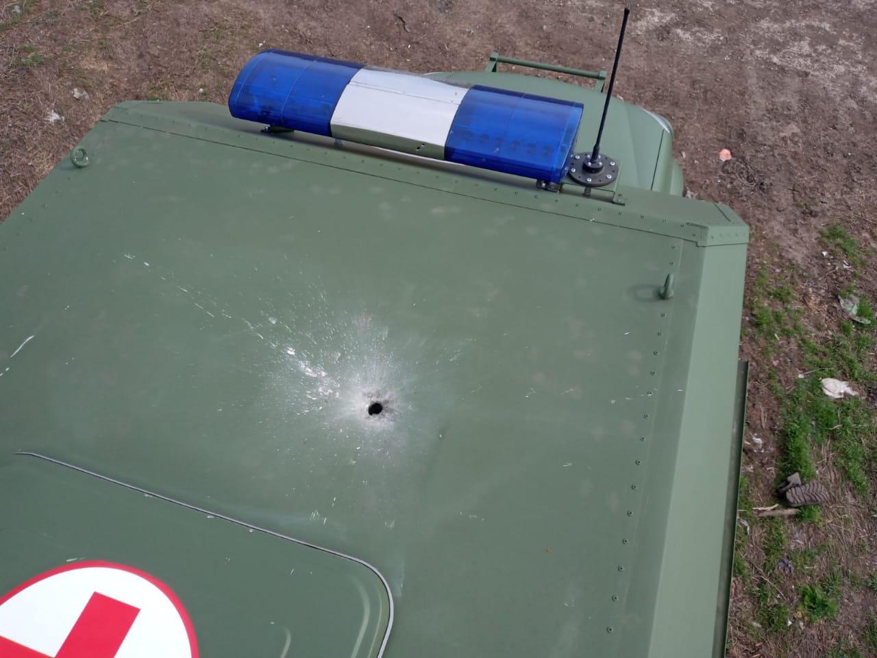 Прокуратура відкрила справу через обстріл санітарної машини