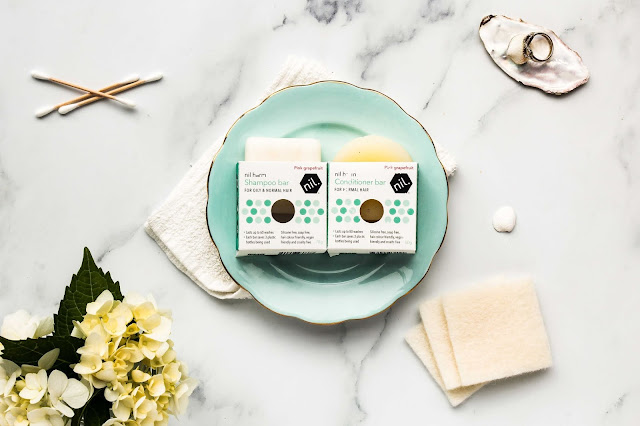 Nil shampoo and conditioner hair bars review