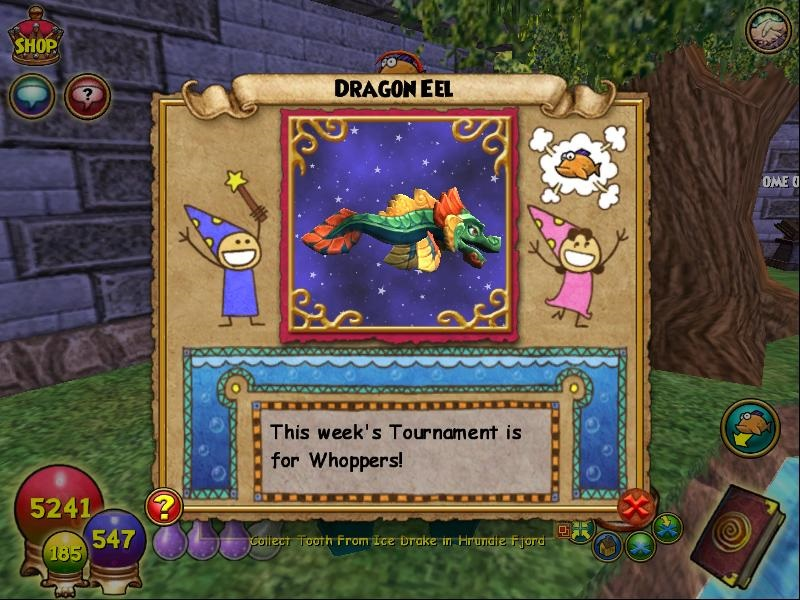 Paige's Page: My Wizard101 Fish Collecting