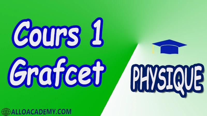 Cours 1 Grafcet pdf