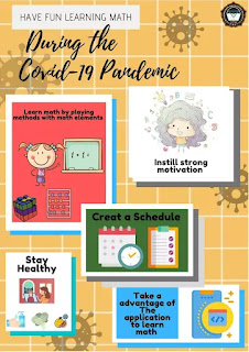 Poster Have fun learning math during the covid-19 pandemic