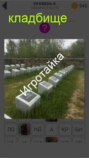 800 слов кладбище ответ на 8 уровне