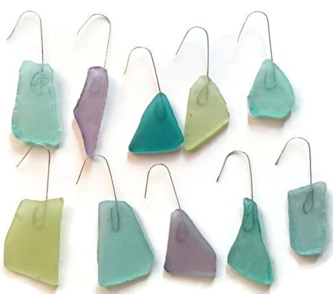 Seaglass Ornaments