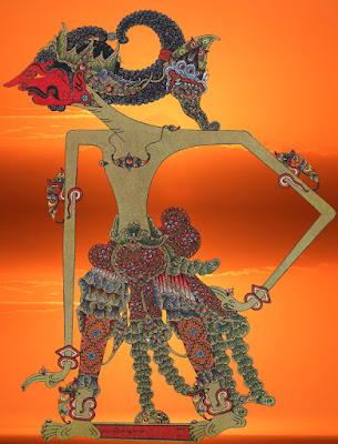 Gambar wayang Setyaki