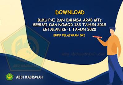Buku Pelajaran SKI Madrasah Tsanawiyah (MTs) Cetakan Ke-1 Tahun 2020