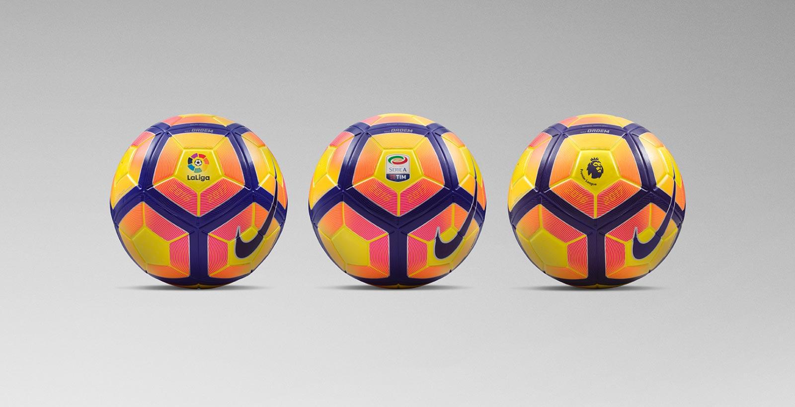 La Liga: Nike 2016-17 Premier League, La Liga And Serie A Winter
