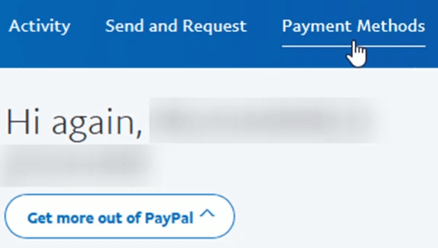 how to cancel paypal payment from bank account