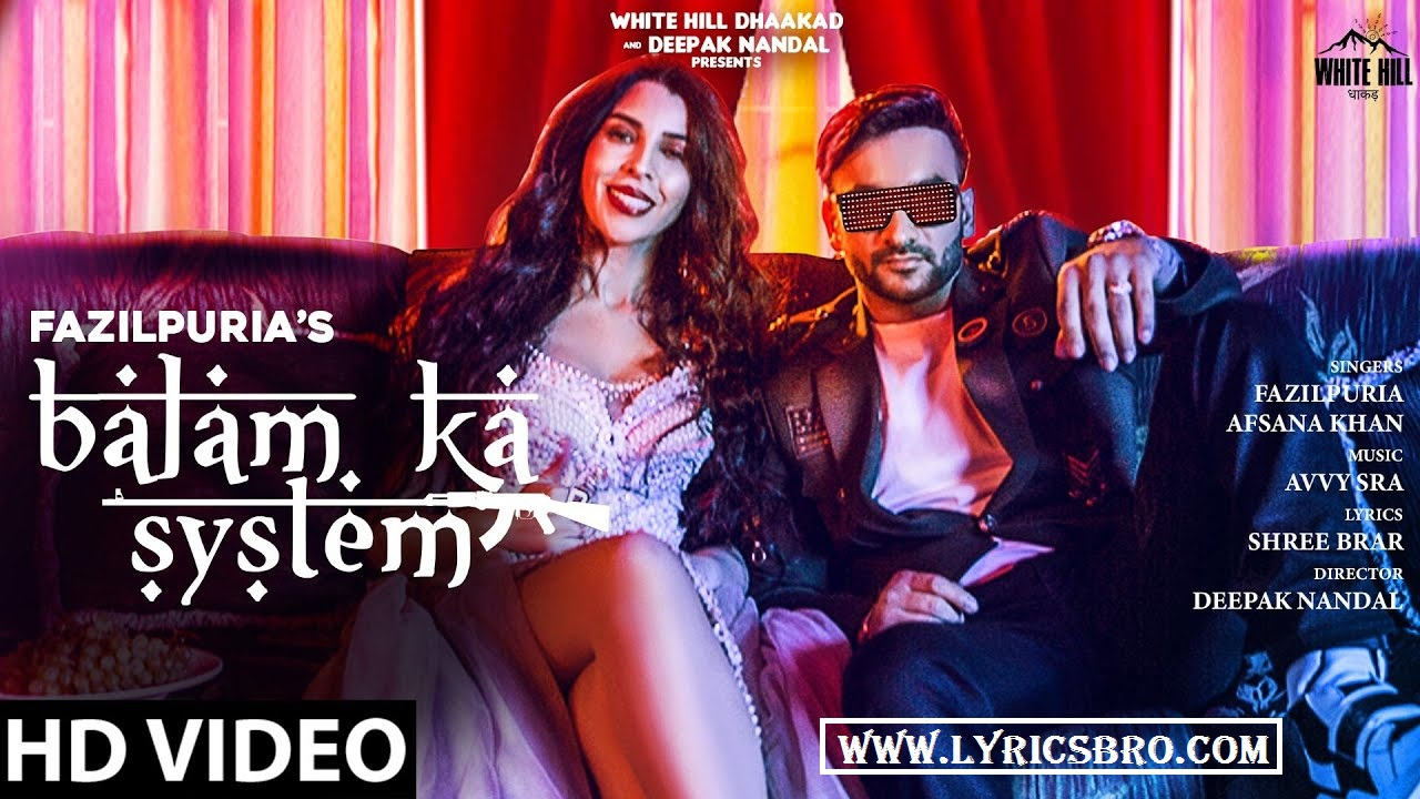 balam-ka-system-lyrics-in-hindi-fazilpuria