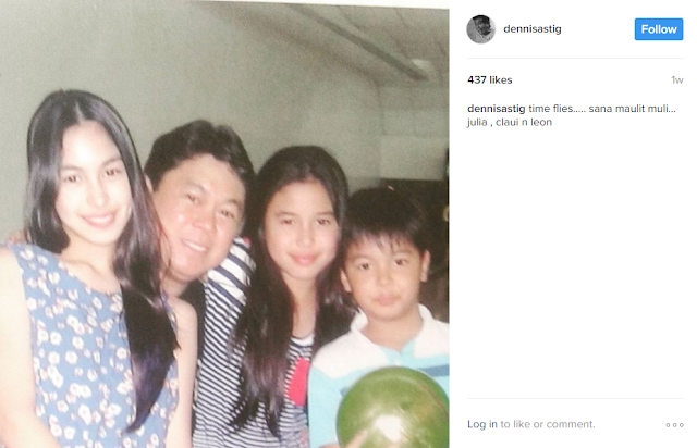 Check Out Dennis Padilla and His Daughter Julia Barretto's Bonding Moments Here!