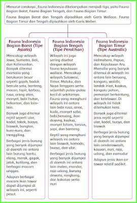 materi pelajaran jenis jenis fauna indonesia kelas 5 sd