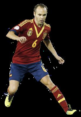 Andres Iniesta - Spanyol #1