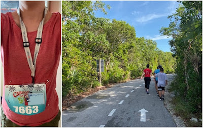 Castaway Cay Disney's private island 5K run