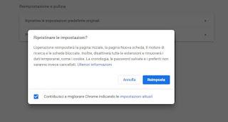 Ripristina Chrome