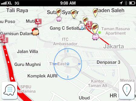 Waze GPS.apk Sekarang Suport Bahasa Indonesia