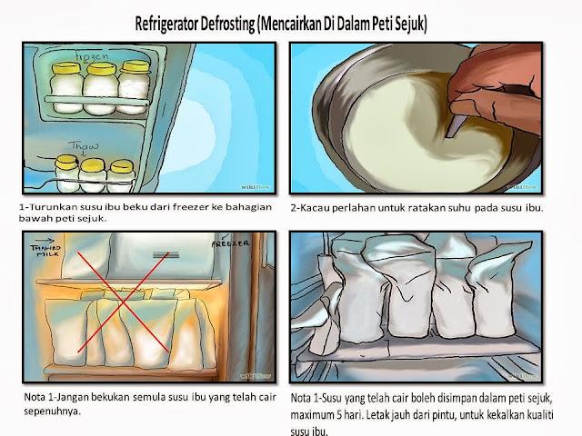 Cara Panaskan Susu Ibu Supaya Tidak Rosak Dan Kekal Berkhasiat