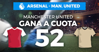 Paston Megacuota Manchester United gana Arsenal 1 enero 2020